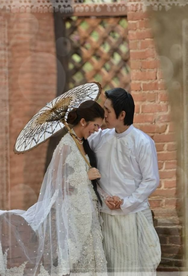Beautiful Myanmar Traditional Wedding Dress Fashionre