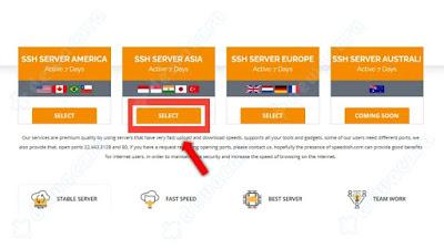Cara membuat akun ssh premium gratis