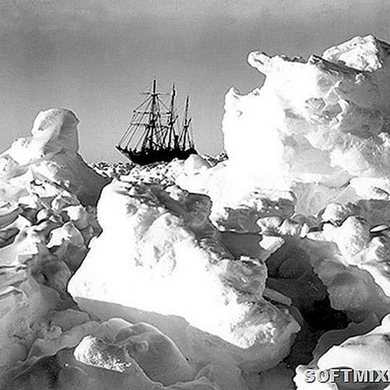 Впечатляющие фото Антарктиды начала XX века