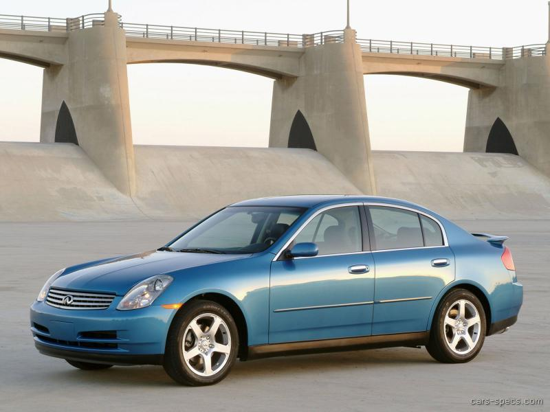 2004 Infiniti G35 Sedan Specifications Pictures Prices