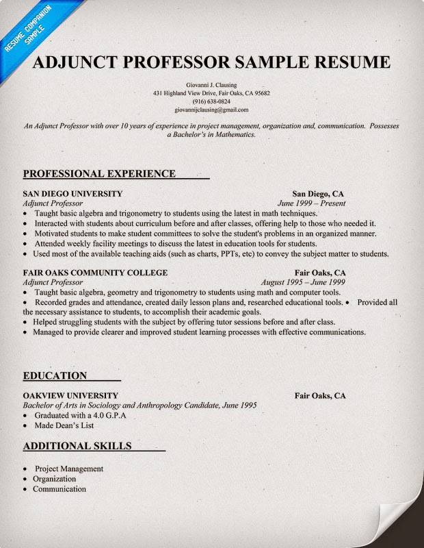 Resume Companion's Most Popular Resumes! Feel Free to Share Them ...
