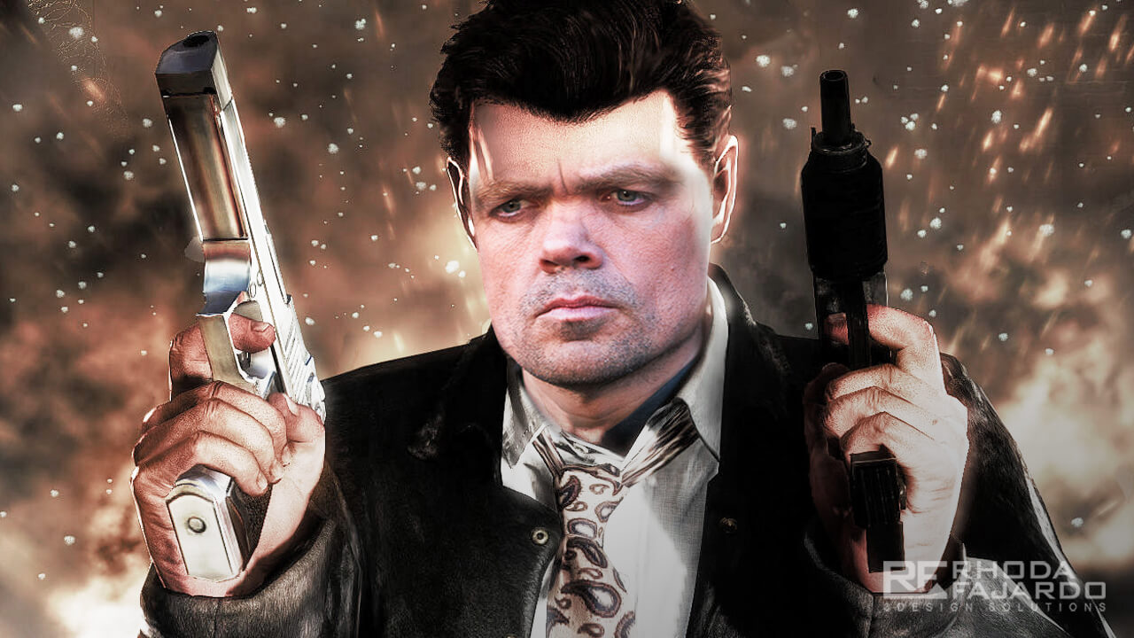 Tyrion Lannister as Max Payne