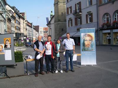 Preparation for Vassula's Meeting in Austria