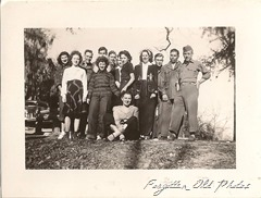 Group photo San Antonio TX 1946 Number 710