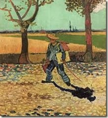 van gogh painter on road to tarascon