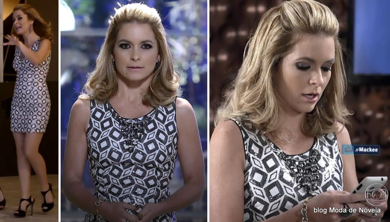 moda da novela Geração Brasil, look da Pamela dia 1 de agosto