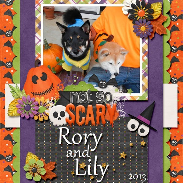 Template: Connie Prince - Halloween Party Kit: Connie Prince - Halloween Party