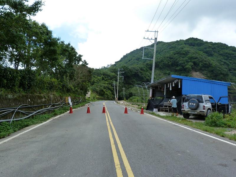 Route de Ao wan da...fermée....