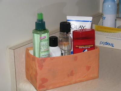 Turn a Juice carton into a organizer