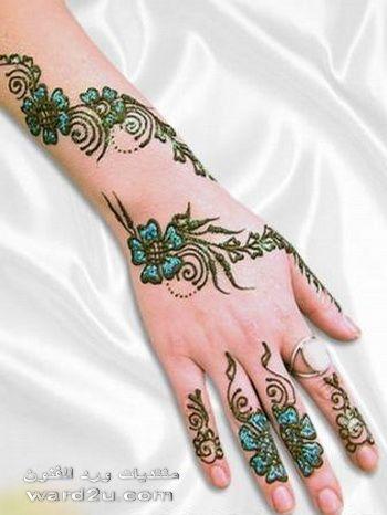 نقش حناء روعه لآحلى عروس