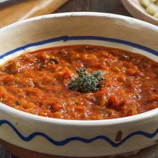 Tomato Garlic Chutney.