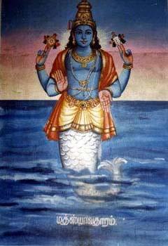 Lord Matsya, Gods And Goddesses 6