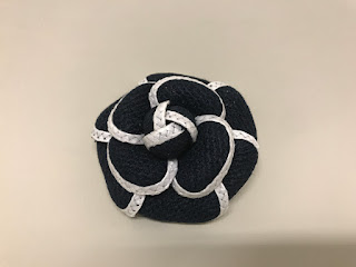 Chanel Floral Brooch