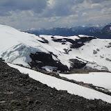 La parte bassa dell'altro ghiacciaio