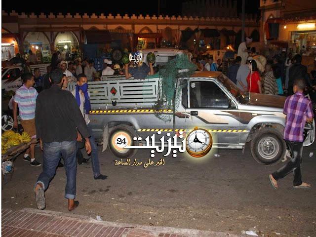 «فوضى عارمة» بشارع سيدي عبد الرحمان بتيزنيت