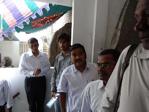 Photo: Dr. JP at the polling booth - GHMC Elections