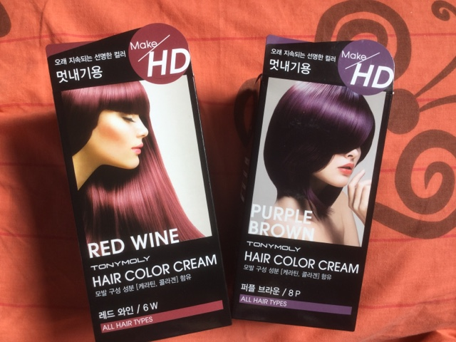 Review Make Hd Hair Color Cream By Tony Moly