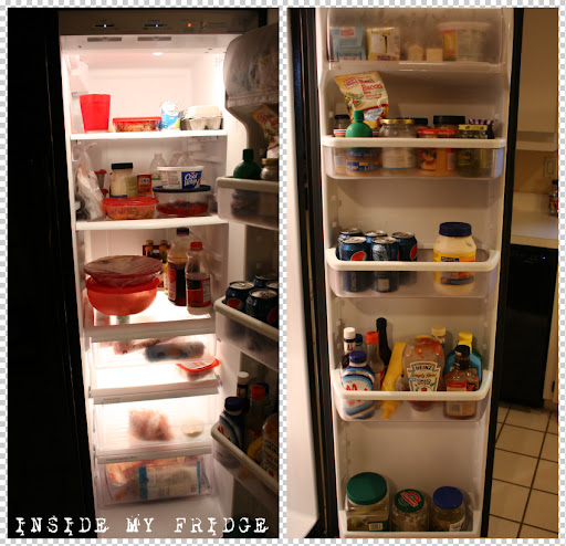 (February 15) A little peek INSIDE MY FRIDGE.