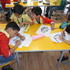 Colouring(Panda) Activity Done By Sr.kg 2012-13