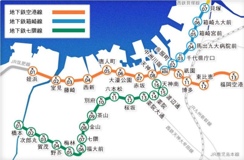 福岡地下鐵01