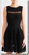 Alaia knitted mini dress