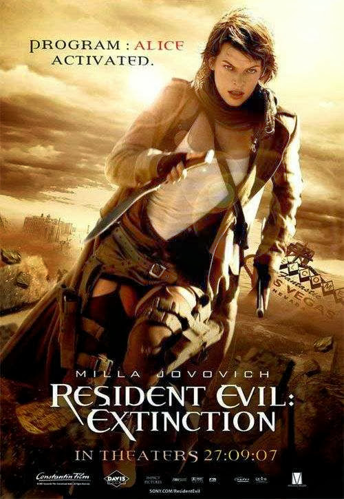 Poster Of Resident Evil: Extinction (2007) Full Movie Hindi Dubbed Free Download Watch Online At Alldownloads4u.Com
