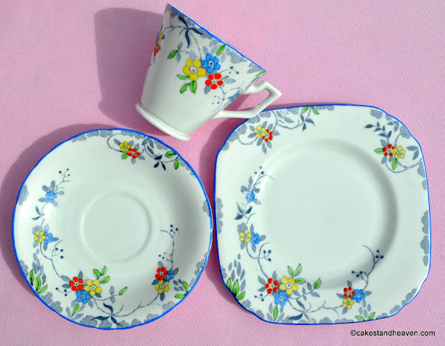 Hand Painted William Hudson Vintage China