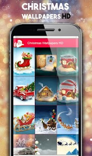 Christmas Wallpapers Live FREE: Christmas Pictures - náhled