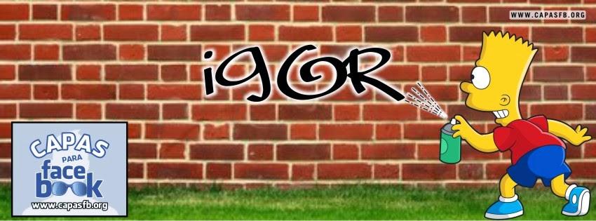 Capas para Facebook Igor