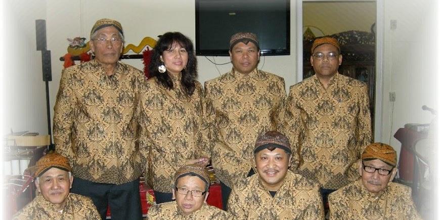 Gamelan groep Bangun Trisna Budaya