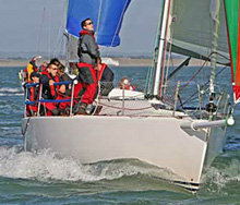 J/109 sailing in Ireland