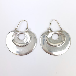 Sterling Silver Metropolitan Museum of Art Earrings