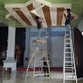 PT Pulau Sambu Bantu Instalasi Listrik Interior Masjid Besar Nurul Jama'ah Kec. Tanah Merah