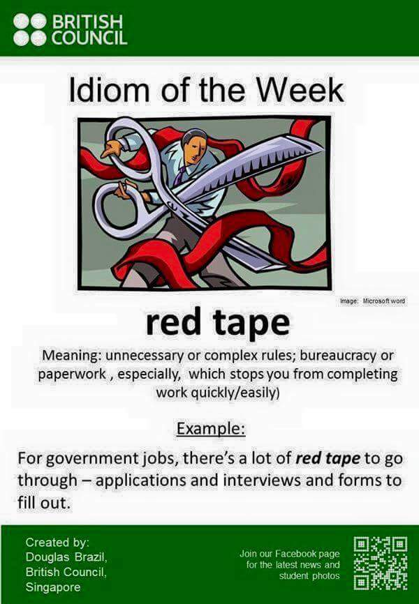 English is fun!: Idiom of the Week