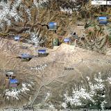 Localisation des photos Pamir Sud