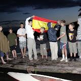 Hiszpania ze Szczecina. Od lewej: Piotr (trzyma flagę), Jeremi, Adam, Paweł, Arek, Filip, Jasiu