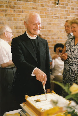 Fr Connor at his retirement party