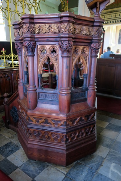 SJC Pulpit