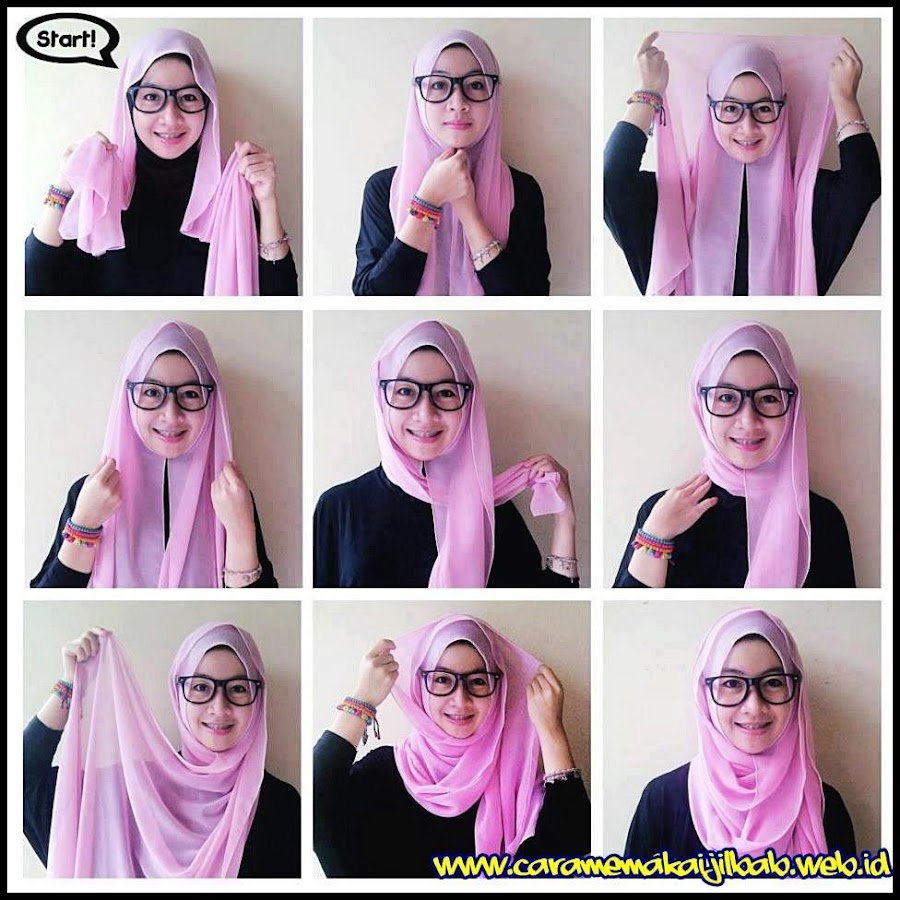 Tutorial Hijab Segi 4 Tutorial Hijab Segi Empat Android Apps On