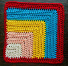 Free crochet pattern:  Mitered Square 6""
