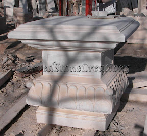Figure, Interior, Marble, Pedestal, Statues