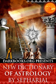 Cover of Sepharial's Book New Dictionary of Astrology