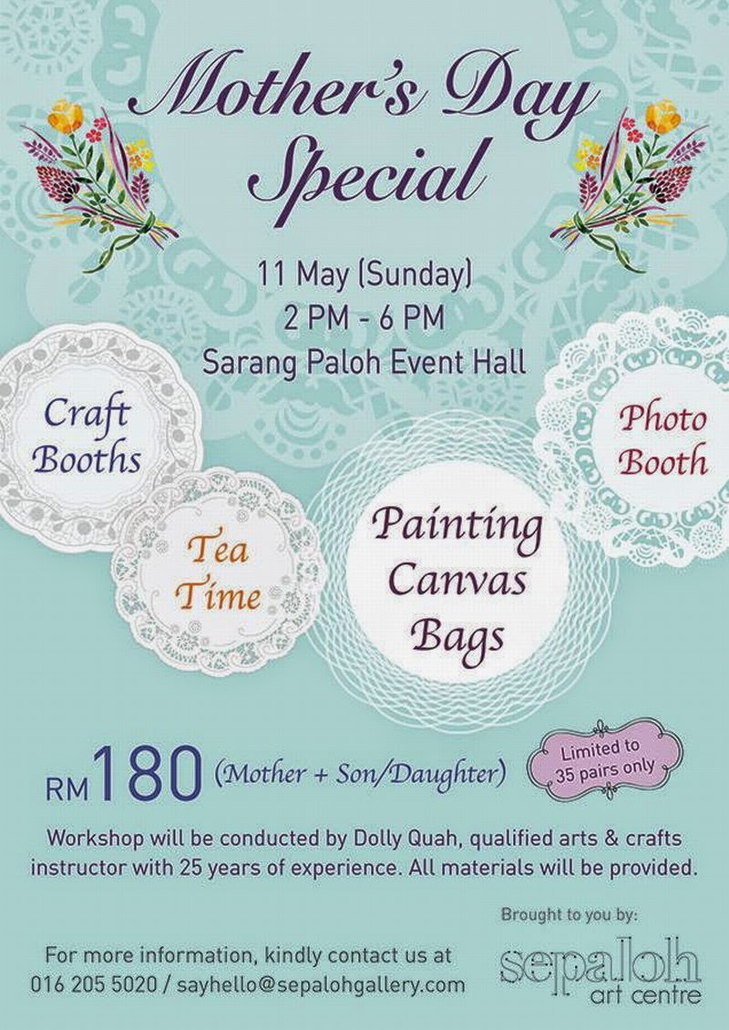 Mother's Day Special: Tote Bag Painting Workshop