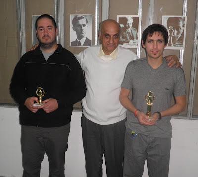 Sebastián Ciccarelli, Raúl Scaglione y Juan Ignacio Bellovino