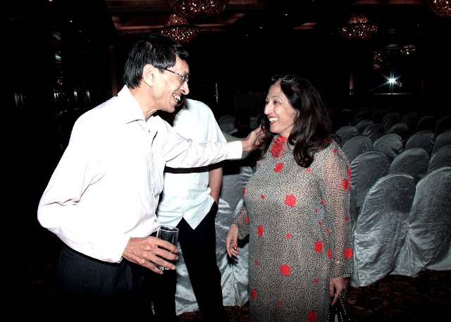 Kiran Nadar and Subash Gupta