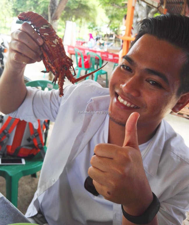 lobster fresh di Lombok