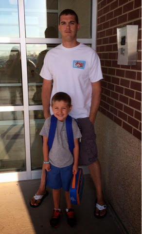 #backtoschool #kindergarten #dadandson