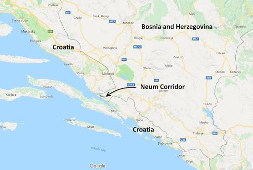 Bosnier haver blockad