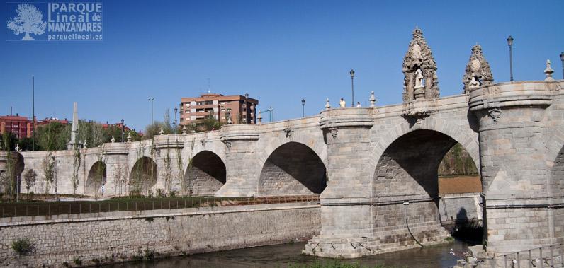 puente de segovia madrid rio