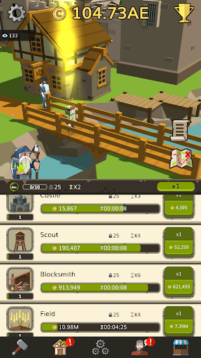 Code Triche Medieval: Idle Tycoon - Idle Clicker Tycoon Game APK MOD screenshots 3